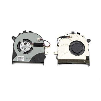 Вентилатор за DELL Inspiron 15 7558, 7568, 4pin, 5V - 0.45A image