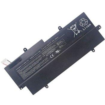 Батерия (заместител) за Лаптоп Toshiba Portege Z830/Z835/Z930/Z935, 4-cell, 14.8V, 2600mAh image