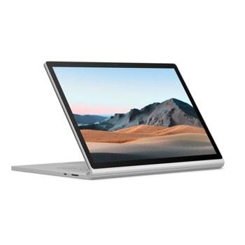 "Хибриден лаптоп Microsoft Surface Book 3 (V6F-00023)(сребрист), четириядрен Ice Lake Intel Core i5-1035G7 1.2/3.7 GHz, 13.5"" (34.29 cm) PixelSense Touchscreen Display, (USB-C), 8GB DDR4, 256GB SSD, Windows 10 Home image"