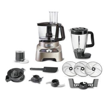 Кухненски робот Tefal DO824H38, 1000W, 31 функции, 10 приставки, 3 л. вместимост, инокс image
