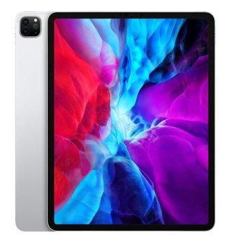 """Таблет Apple iPad Pro (4th Generation)(MXFA2HC/A)(сребрист), 4G/LTE, 12.9"""" (32.76 cm) Liquid Retina дисплей, осемядрен Apple A12Z Bionic, 6GB RAM, 1TB Flash памет, 12.0 + 10.0 MPix & 7.0 MPix камера, iPad OS, 643g image"""