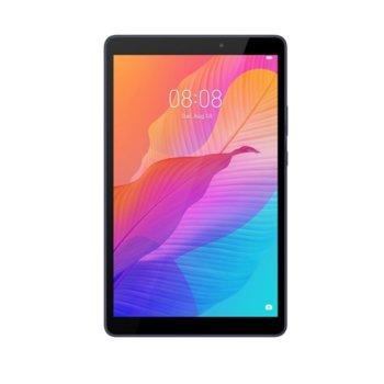 "Таблет Huawei MediaPad T8 Kobe2-L09A (син), LTE, 8"" (20.32 cm) IPS LCD дисплей, двуядрен Mediatek MT8768 2.0 GHz, 2GB RAM, 16GB ROM (+ microSD слот), 5.0 & 2.0 Mpix, Android 10 image"