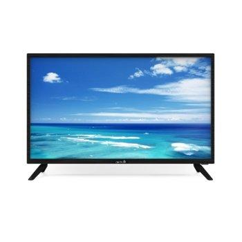 "Телевизор Arielli 32S214T2 Smart, 32""(81.28 cm) HD Smart TV, DVB-T2,DVB-C, Wi-Fi, 2x HDMI, 2x USB image"