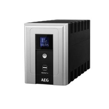 UPS AEG Protect A, 1200VA/720W, Line Interactive, Tower, 2x USB image