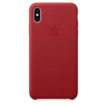 Apple iPhone XS Max Leather Case - RED product