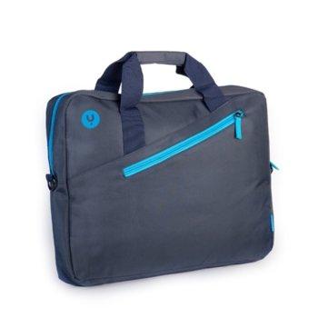 "Чанта за лаптоп NGS Gingerarmy, до 15.6"" (39.6 cm), синя image"