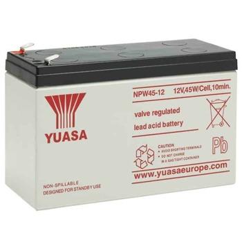 Акумулаторна батерия Yuasa NPW45-12, 12V, 9Ah, VRLA image