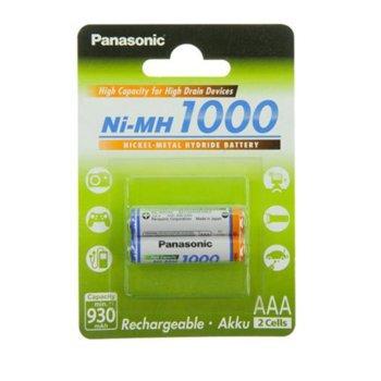 Батерии Panasonic, AAA, 1000mAh, 1.2V, Ni-MH, 2 бр. image