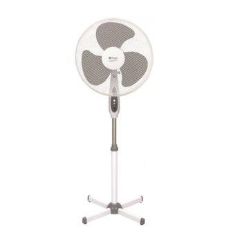 Настолен вентилатор Rohnson R 853, 3 скорости, 40 cm диаметър, защита от прегряване, 50W, бял image
