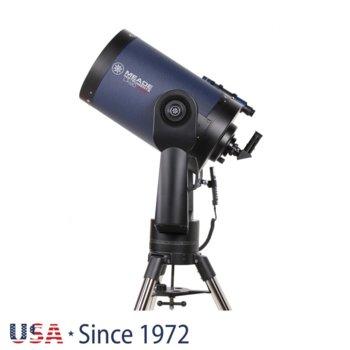Телескоп Meade LX90 12 f/10 ACF, 8x50 mm с решетка с кръстче оптично увеличение, 305mm диаметър на лещата, 3048mm фокусно разстояние image