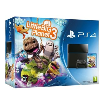 Sony PS4 500GB + LittleBigPlanet 3 product