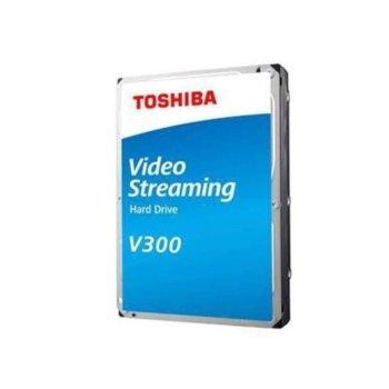 """Твърд диск 2TB Toshiba V300, SATA 6Gb/s, 5700 rpm, 64MB, 3.5"""" (8.89cm), Bulk image"""