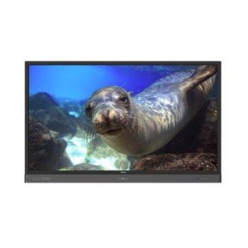"Интерактивен дисплей BenQ RP860K, 86""(218.44 cm) UHD Tempered glass DLED сензорен дисплей, Display Port, 4x HDMI, VGA, USB, RJ-45, RS232 image"