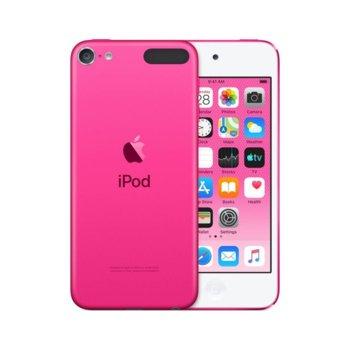 "MP4 плейър Apple iPod Touch (розов), 4.0""(10.16 cm) сензорен IPS Retina дисплей, A10 Fusion чип, 32GB Flash памет, 8Mpix & Facetime HD 1.2Mpix camera, Wi-Fi, Bluetooth 4.1, iOS 12 image"
