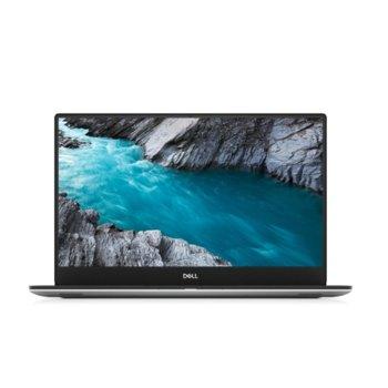 "Лаптоп Dell XPS 7590 (5397184311547)(сребрист), шестядрен Coffee Lake Intel Core i7-9750H 2.6/4.5 GHz, 15.6"" (39.62 cm) UHD/4K IPS Anti-Glare Display & GF GTX 1650 4GB, (HDMI), 16GB DDR4, 1TB SSD, 1x Thunderbolt 3, Windows 10 Home image"