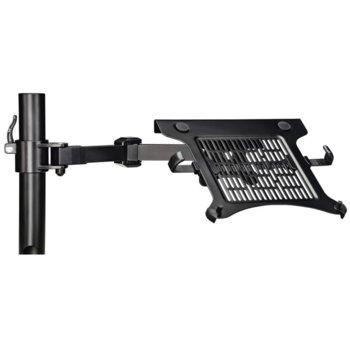 "Поставка за лаптоп Hama, до 15.6"", Регулируема, 4 кг, черна image"