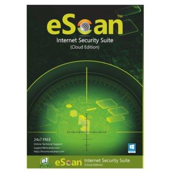 Софтуер eScan Internet Security Suite with Cloud Security, 1 потрeбител, 1 година image