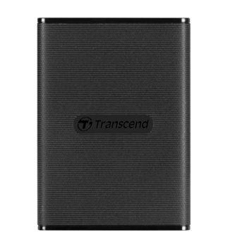 Памет SSD 480GB Transcend ESD230C, USB 3.1 Gen2, външно, преносимо, скорост на четене 520MB/s, скорост на запис 460MB/s, черно image