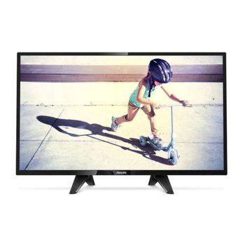 "Телевизор Philips 4100 (32PFS4132/12), 32"" (81.28 cm) Full HD LED TV, DVB-T/C/S, 2x HDMI, 1x USB image"