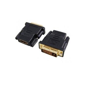 Преходник DeTech DVI(м) към HDMI(ж) image