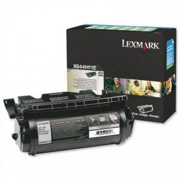 КАСЕТА ЗА LEXMARK X 64XE - Return program cartridge - P№ X644H11E - заб.: 21000k image