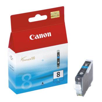 ГЛАВА CANON PIXMA iP 4200/5200/5200R/6600D/ MP 500/800 - Cyan ink tank - P№ 0621B001/ CLI-8C - заб.: 13ml. image