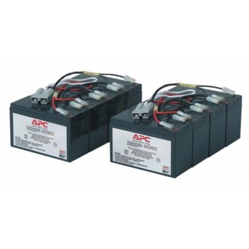 Battery replacement kit APC, 12V, 7.5Ah image