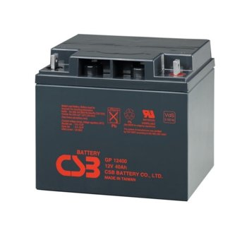 Акумулаторна батерия Eaton GP12400, 12V, 40Ah, VRLA image