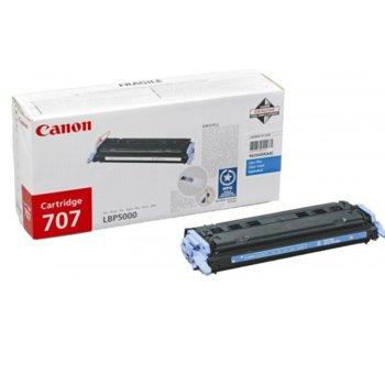 Касета за Canon LBP 5000/5100 - Cyan - CRG-707C - P№ 9423A004 - 2 000K image