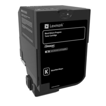 Касета за Lexmark CS720de / CS720dte / CS725de / CS725dte / CX725de / CX725dhe / CX725dthe - Black - P№ 74C20K0 - заб.: 3 000k image