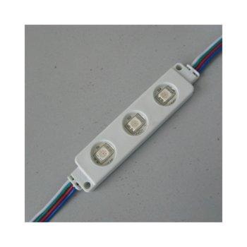 LED модул ORAX O-M3RGB-IP65, 0.72W, DC 12V, 12lm image