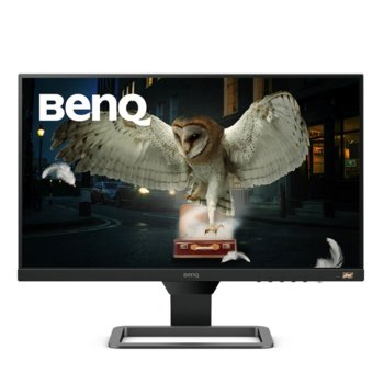 "Монитор BenQ EW2480 (9H.LJ3LA.TSE), 23.8"" (60.45 cm) IPS панел, Full HD, 5ms, 250cd/m2, HDMI image"