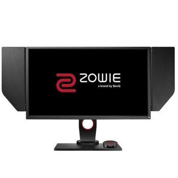 "Монитор BenQ ZOWIE XL2546S (9H.LJFLB.QBE), 27"" (68.58 cm), TN панел, 240 Hz, Full HD, 0.5ms, 1 000:1, 320 cd/m², Display Port, 2x HDMI, DVI, USB, бързи бутони image"