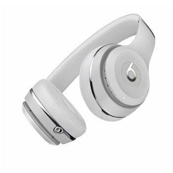 Слушалки Beats Solo3 Wireless, Bluetooth, микрофон, до 40 часа работа, сребристи image