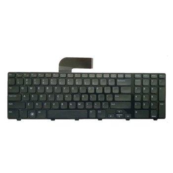 Клавиатура за лаптоп Dell, съвместима със серия Inspiron N5110 M5110 XPS L702X, US/UK, с кирилица image