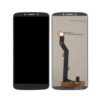 Дисплей за Motorola Moto E5 с тъч, черен image