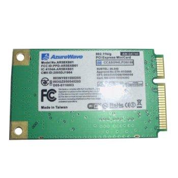 Мрежова карта AzureWave AW-GE740, WiFi 802.11b/g, mini PCI-E image