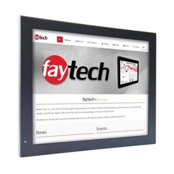 "Индустриален компютър Faytech 1010501616 FT17N3350RES, двуядрен Apollo Lake Intel Celeron N3350 1.1/2.4 GHz, 17"" (43.18 cm) SXGA Touchscreen Display, 4GB, 128GB SSD, 2x USB 3.0, Linux image"