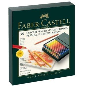 Faber-Castell Polychromos 36 цвята в кутия product