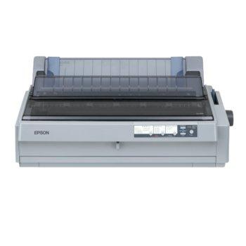 Матричен принтер Epson LQ-2190N, 360x180 dpi, 144 chars/s, 128kB Included, USB, Bidirectional parallel, 1г.  image