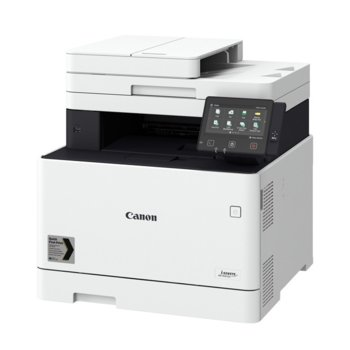 Мултифункционално лазерно устройство Canon i-SENSYS MF744Cdw, принтер/копир/скенер/факс, 600 x 600 dpi, 27 стр./мин, LAN, Wi-Fi, USB, A4 image