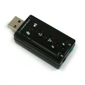 USB звукова карта 7.1 - 17403 product