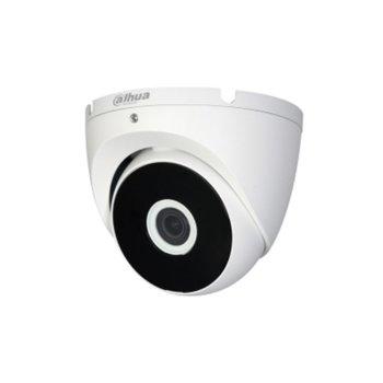 HDCVI камера Dahua HAC-T2A21, куполна камера, 2MPix(1920×1080@25fps), 2.8mm/6mm, IR осветеност (до 20 m), външна IP67 image