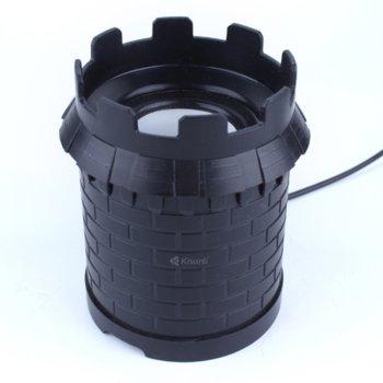 Тонколони Kisonli A101, 2.0, 6RMS( 3W + 3W), USB, черни image