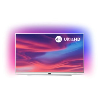 "Телевизор Philips 43PUS7304/12, 43"" (109.22 cm)LED Smart TV, 4K/UHD, DVB-T/T2/T2-HD/C/S/S2, Wi-Fi, Bluetooth, 4x HDMI, 2x USB, Ambilight image"