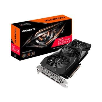 Видео карта AMD Radeon RX 5600 XT, 6GB, Gigabyte WINDFORCE 3X OC, PCI-E 4.0, GDDR6, 192bit, DisplayPort, HDMI image