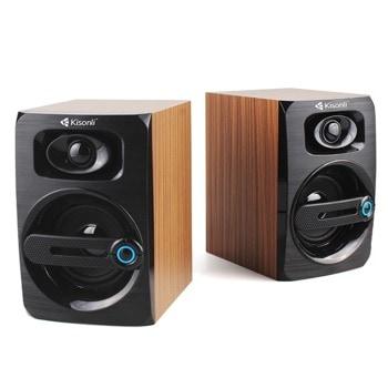 Мини Аудио Система Kisonli T-010, 2.0, 2x3W, USB захранване, 3.5mm стерео image