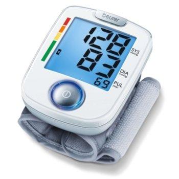 Апарат за кръвно налягане Beurer BC 44, индикация за рискови стойности, индикатор при аритмия, бял image