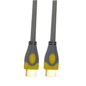 Кабел HDMI(м) към HDMI(м), 1.5m, сив image