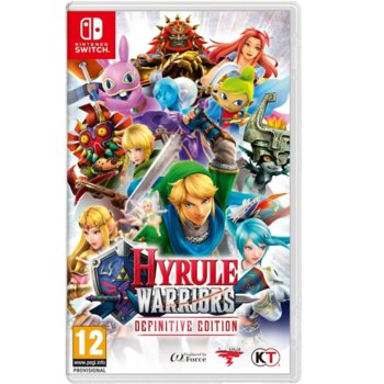 Игра за конзола Hyrule Warriors: Definitive Edition, за Switch image